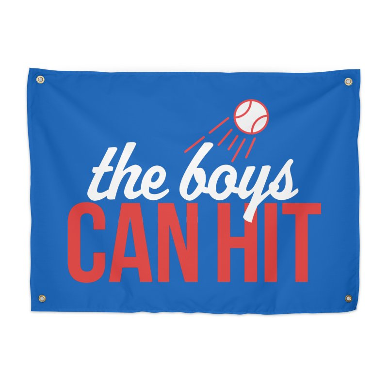 The Boys Can Hit Home Tapestry by Official DodgerBlue.com Shop