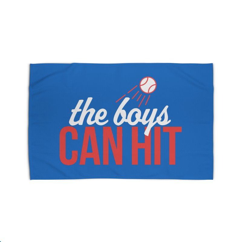 The Boys Can Hit Home Rug by Official DodgerBlue.com Shop