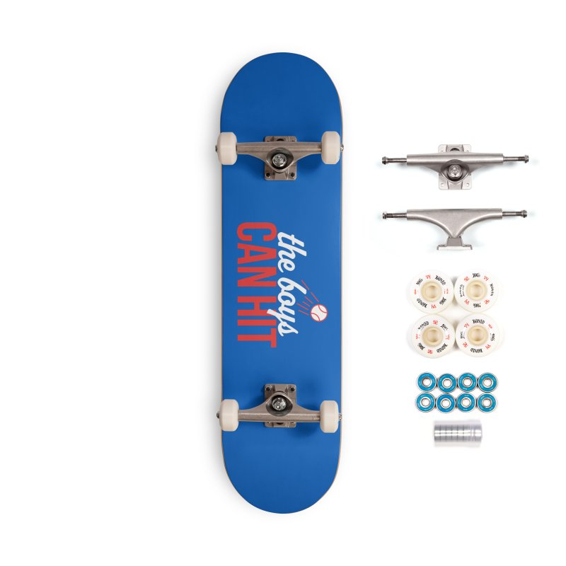 The Boys Can Hit Accessories Complete - Premium Skateboard by Official DodgerBlue.com Shop