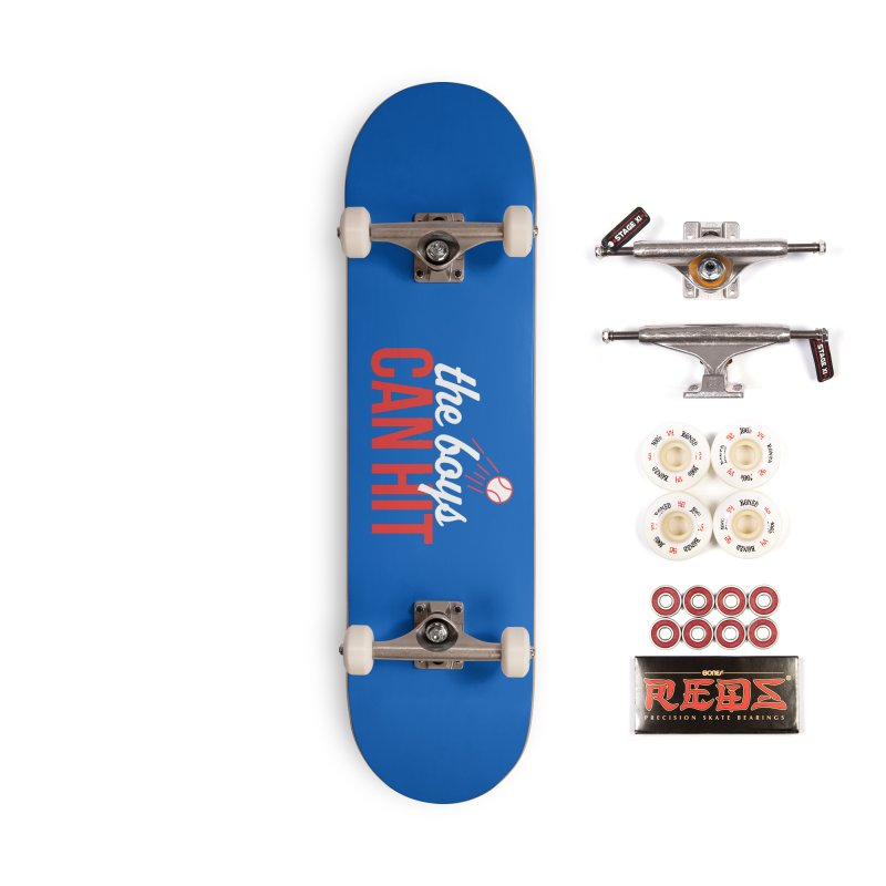 The Boys Can Hit Accessories Complete - Pro Skateboard by Official DodgerBlue.com Shop