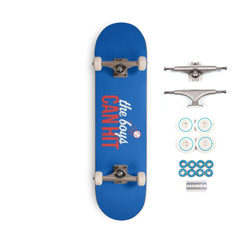 The Boys Can Hit Accessories Complete - Basic Skateboard by Official DodgerBlue.com Shop