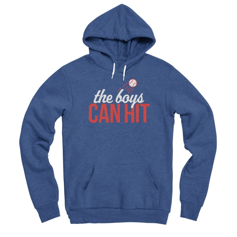 The Boys Can Hit Women's Pullover Hoody by Official DodgerBlue.com Shop