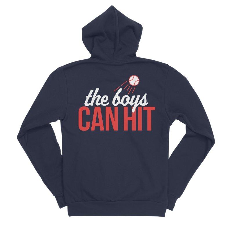 The Boys Can Hit Women's Sponge Fleece Zip-Up Hoody by Official DodgerBlue.com Shop