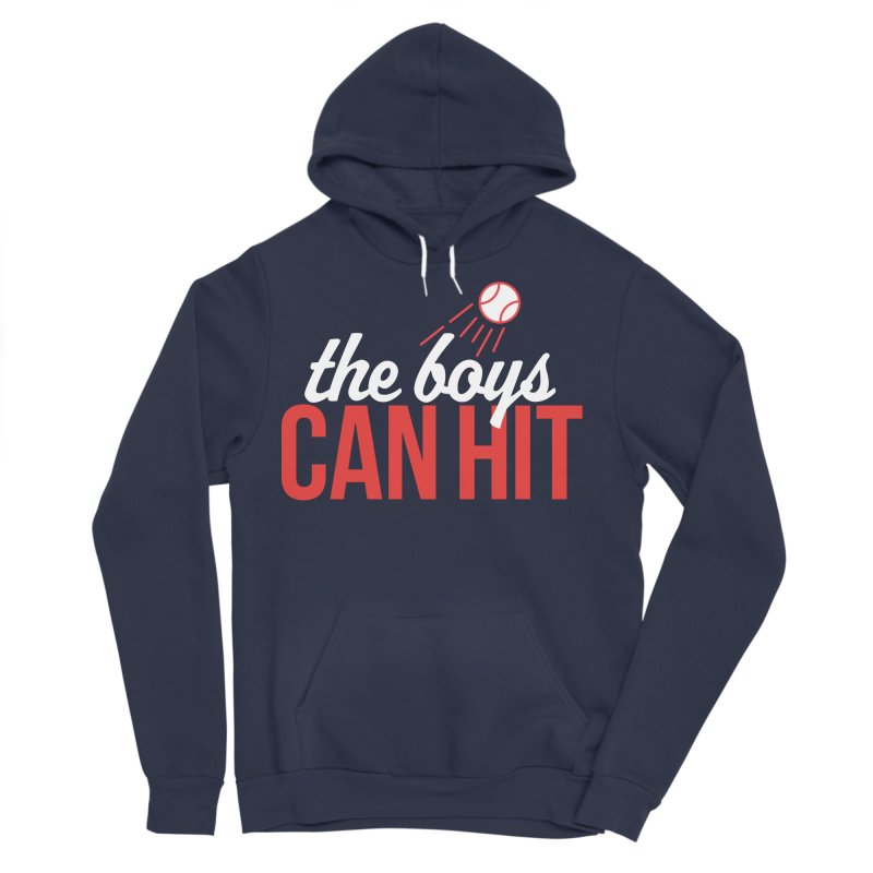 The Boys Can Hit Women's Sponge Fleece Pullover Hoody by Official DodgerBlue.com Shop
