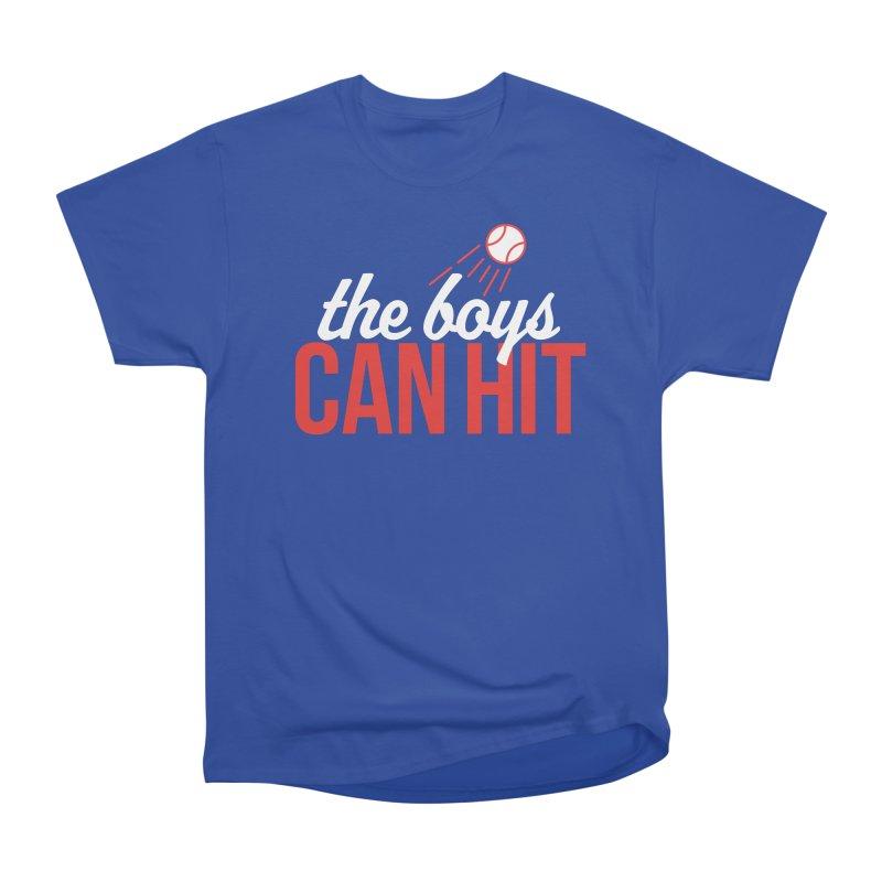 The Boys Can Hit Men's Heavyweight T-Shirt by Official DodgerBlue.com Shop
