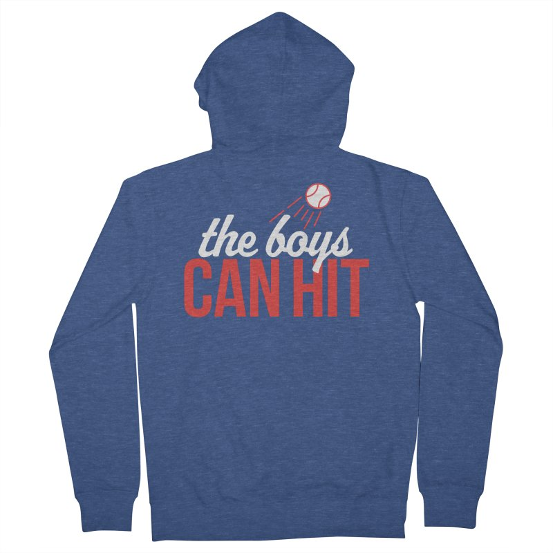 The Boys Can Hit Men's Zip-Up Hoody by Official DodgerBlue.com Shop