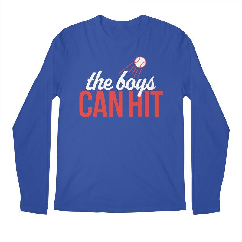 The Boys Can Hit Men's Regular Longsleeve T-Shirt by Official DodgerBlue.com Shop