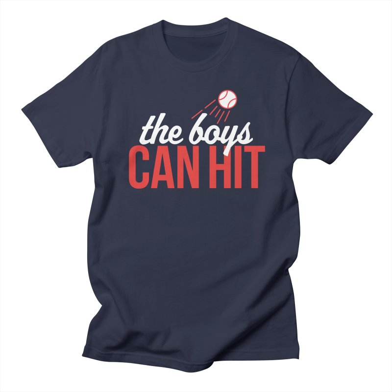 The Boys Can Hit Men's Regular T-Shirt by Official DodgerBlue.com Shop
