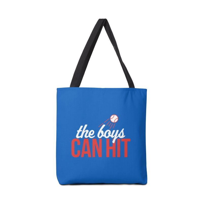 The Boys Can Hit Accessories Tote Bag Bag by Official DodgerBlue.com Shop