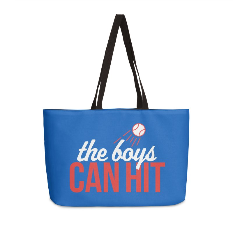 The Boys Can Hit Accessories Weekender Bag Bag by Official DodgerBlue.com Shop