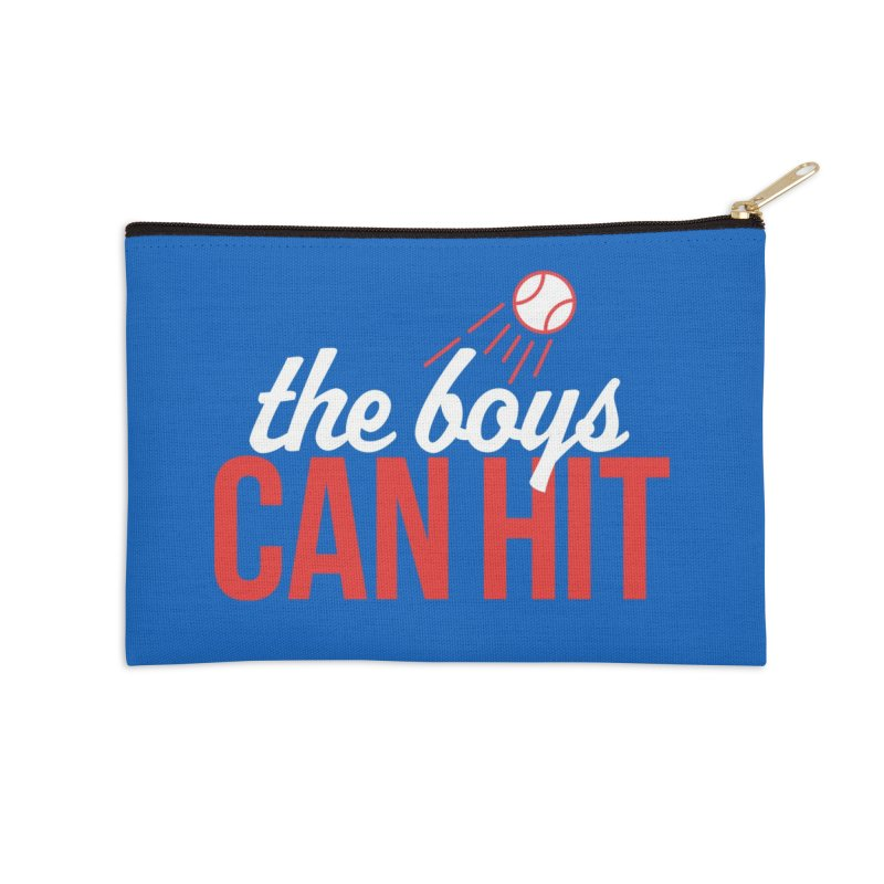 The Boys Can Hit Accessories Zip Pouch by Official DodgerBlue.com Shop
