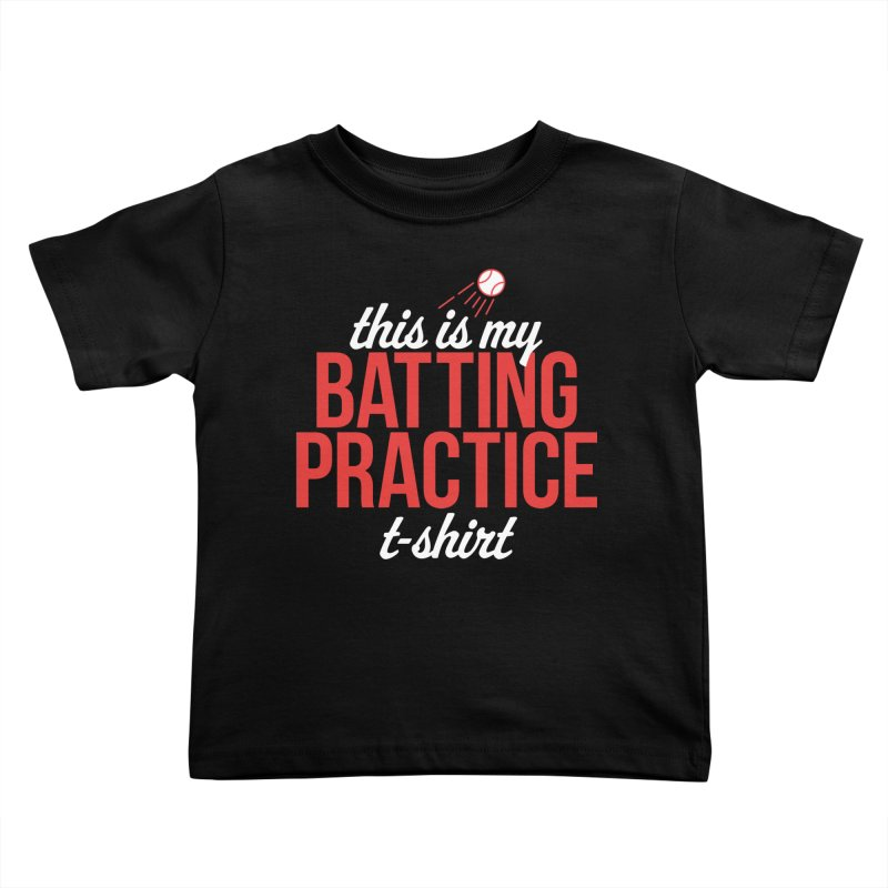 Batting Practice T-Shirt Kids Toddler T-Shirt by Official DodgerBlue.com Shop