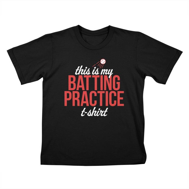 Batting Practice T-Shirt Kids T-Shirt by Official DodgerBlue.com Shop