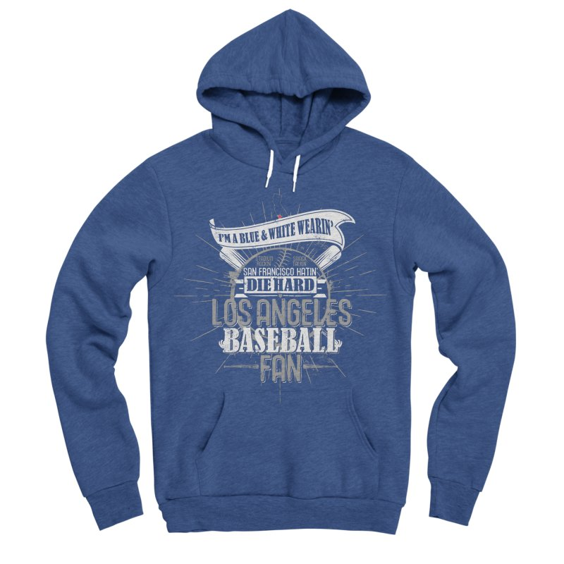 LA Fan Men's Pullover Hoody by Official DodgerBlue.com Shop