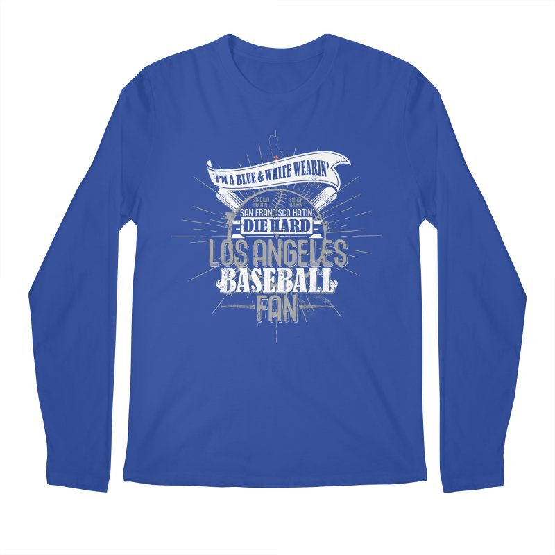 LA Fan Men's Longsleeve T-Shirt by Official DodgerBlue.com Shop