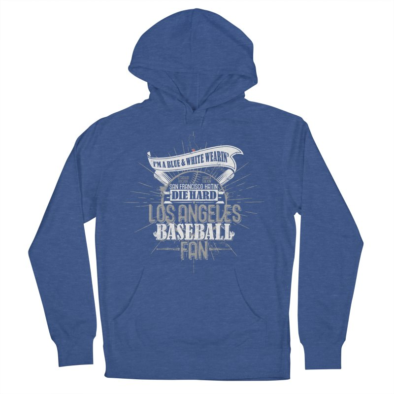 LA Fan Men's French Terry Pullover Hoody by Official DodgerBlue.com Shop