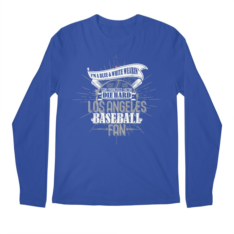LA Fan Men's Longsleeve T-Shirt by Official DodgerBlue.com Shop