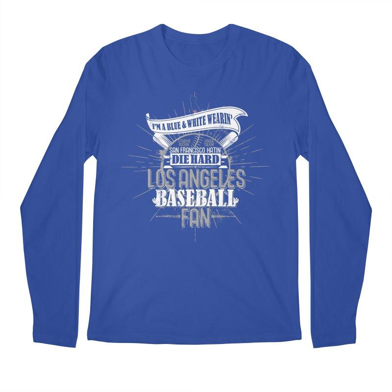 LA Fan Men's Regular Longsleeve T-Shirt by Official DodgerBlue.com Shop