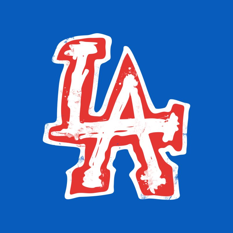 New LA Women's V-Neck by Official DodgerBlue.com Shop