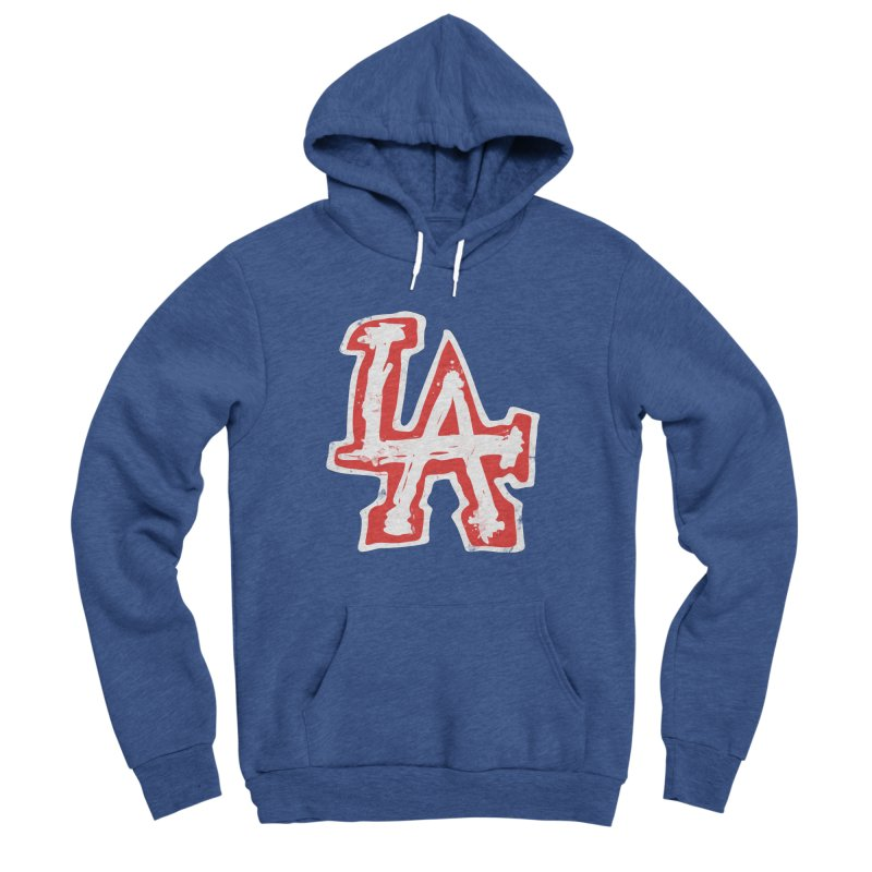 New LA Men's Sponge Fleece Pullover Hoody by Official DodgerBlue.com Shop