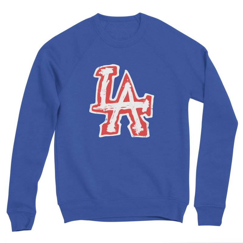 New LA Men's Sponge Fleece Sweatshirt by Official DodgerBlue.com Shop