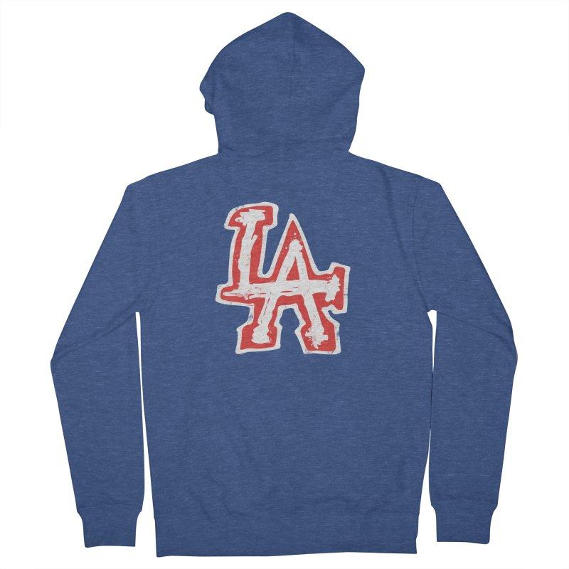 New LA Men's Zip-Up Hoody by Official DodgerBlue.com Shop