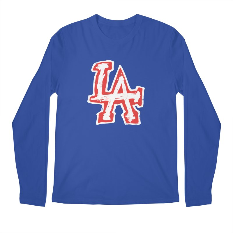 New LA Men's Longsleeve T-Shirt by Official DodgerBlue.com Shop