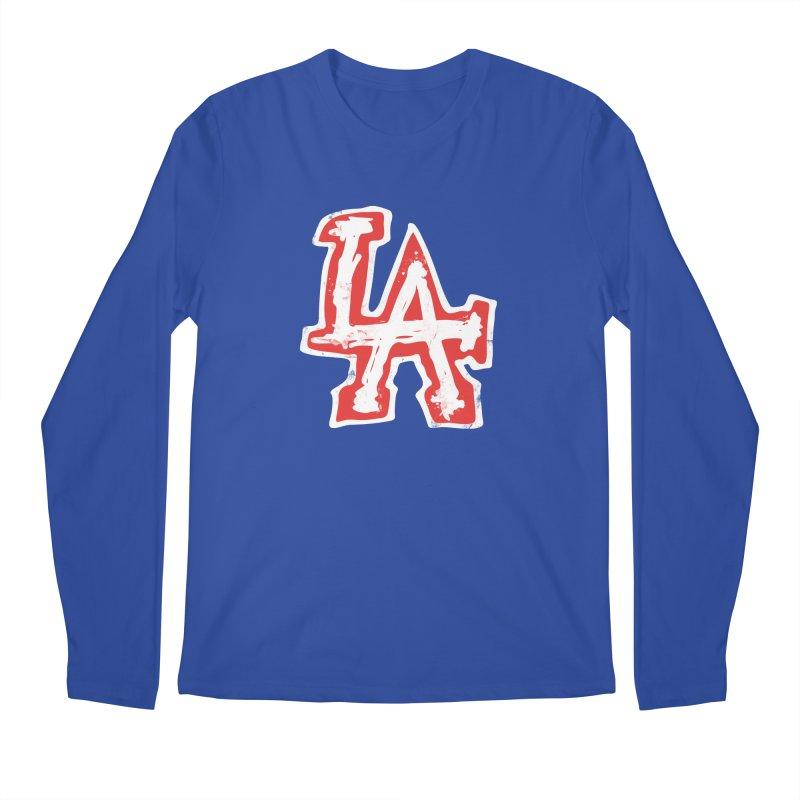 New LA Men's Regular Longsleeve T-Shirt by Official DodgerBlue.com Shop