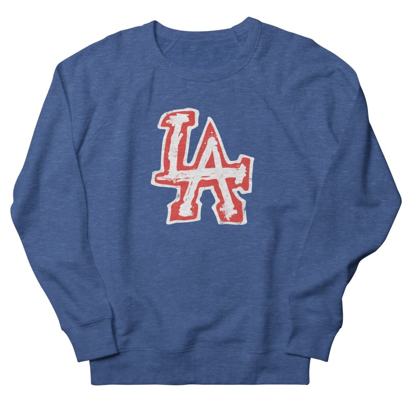 New LA Men's French Terry Sweatshirt by Official DodgerBlue.com Shop