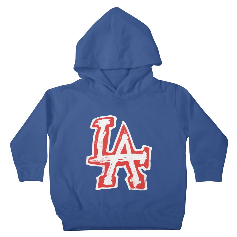 New LA Kids Toddler Pullover Hoody by Official DodgerBlue.com Shop