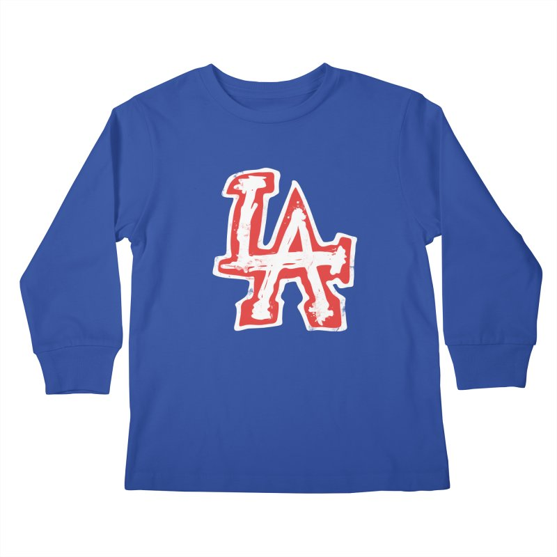 New LA Kids Longsleeve T-Shirt by Official DodgerBlue.com Shop