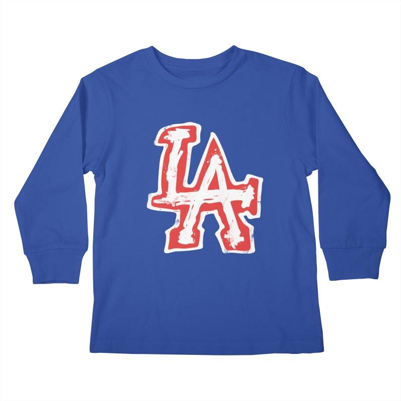 New LA Kids Longsleeve T-Shirt by Official DodgerBlue.com Shop