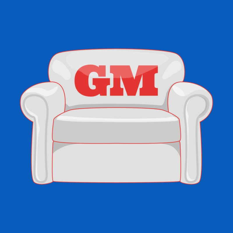 Armchair GM Men's Longsleeve T-Shirt by Official DodgerBlue.com Shop