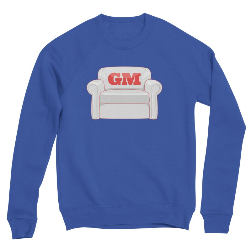 Armchair GM Men's Sponge Fleece Sweatshirt by Official DodgerBlue.com Shop