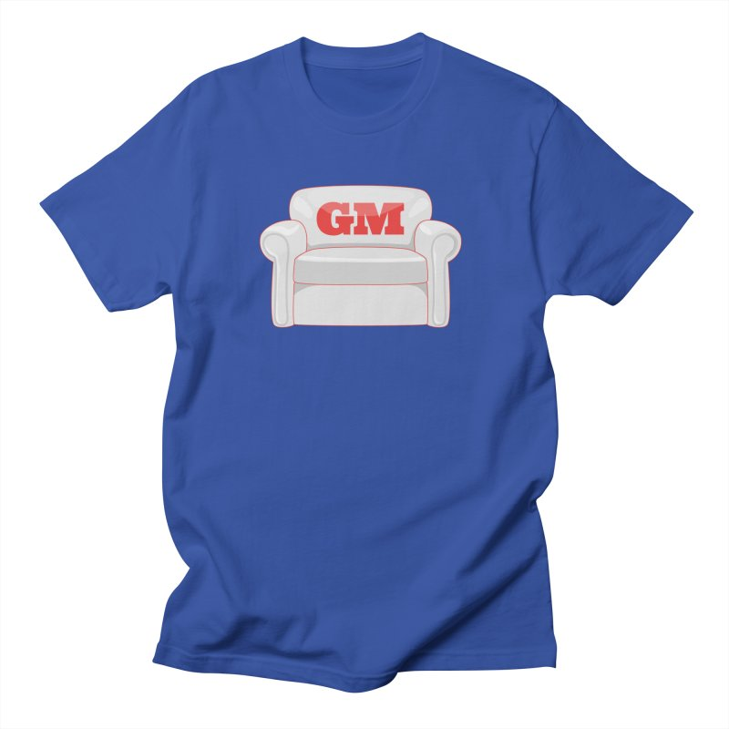 Armchair GM in Men's Regular T-Shirt Royal Blue by Official DodgerBlue.com Shop