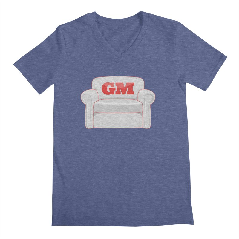 Armchair GM Men's V-Neck by Official DodgerBlue.com Shop