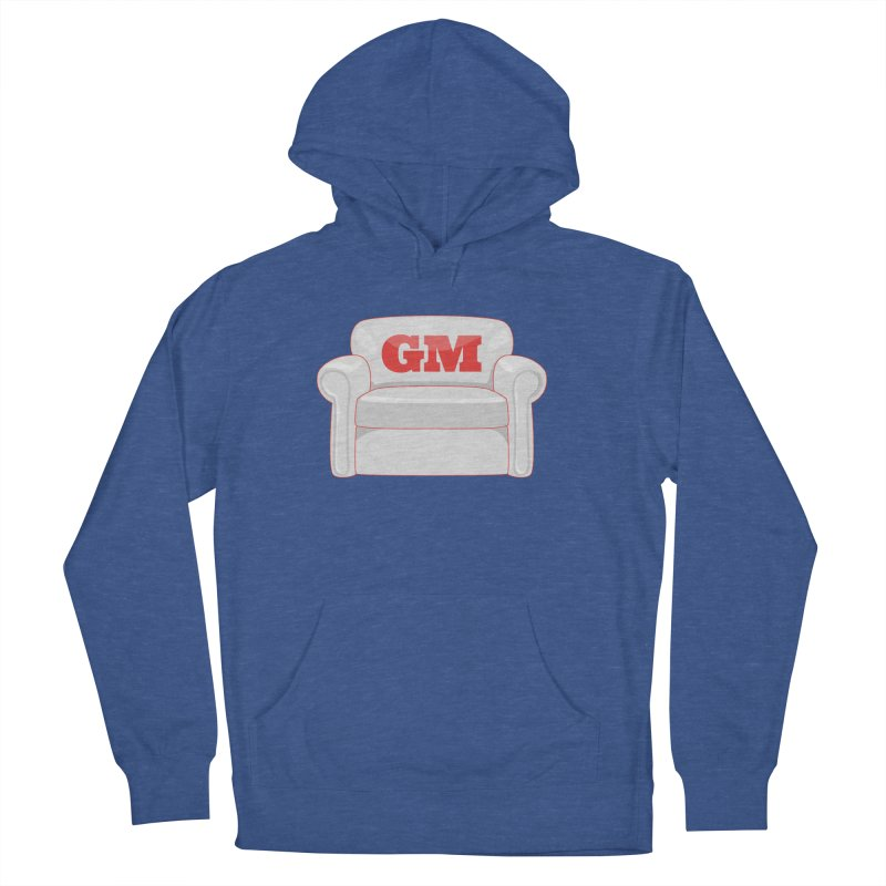 Armchair GM Men's French Terry Pullover Hoody by Official DodgerBlue.com Shop