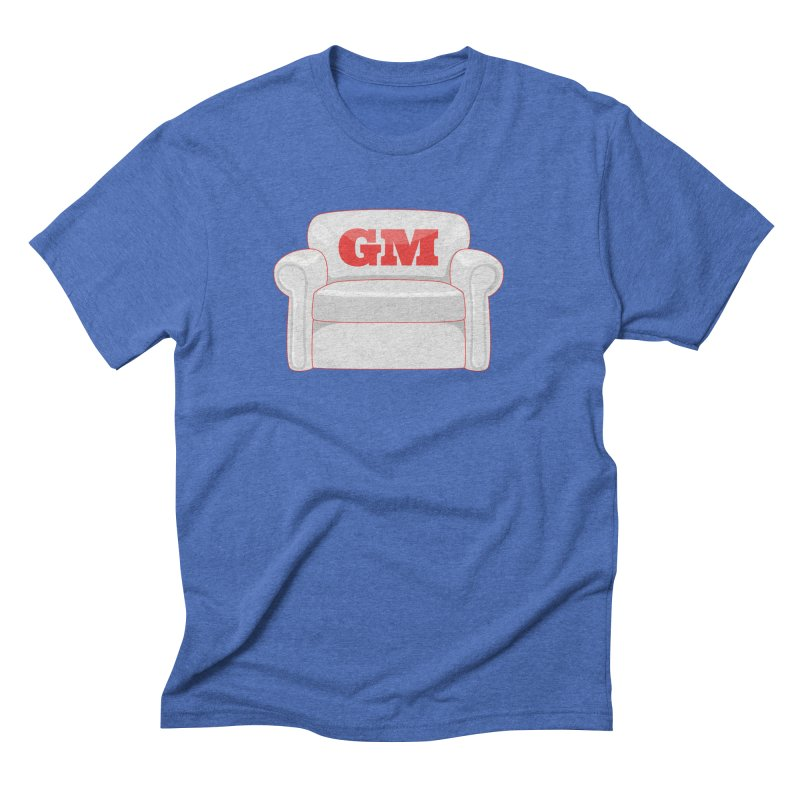 Armchair GM Men's Triblend T-Shirt by Official DodgerBlue.com Shop