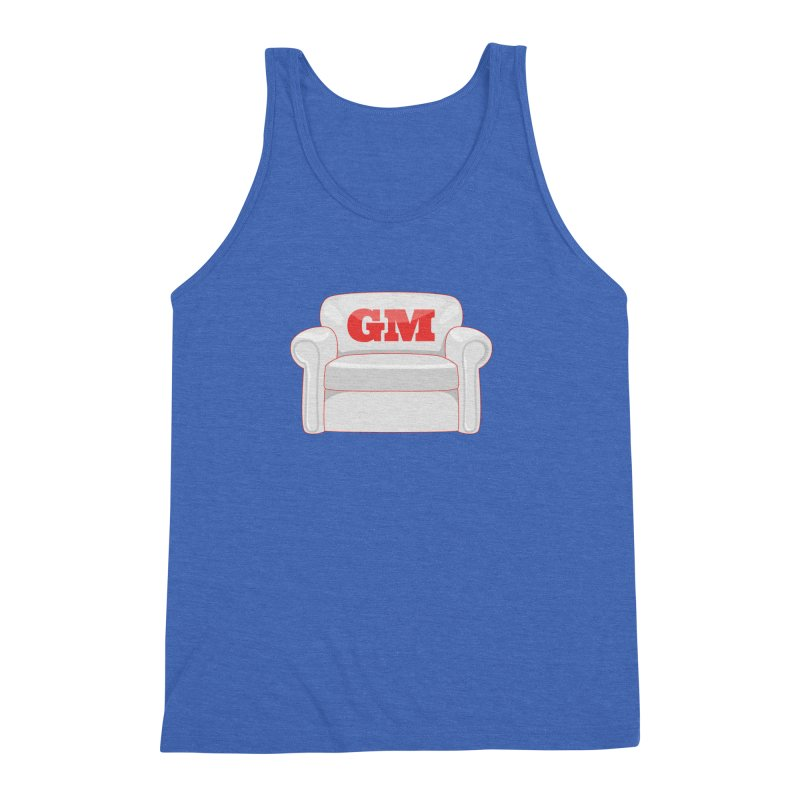 Armchair GM Men's Triblend Tank by Official DodgerBlue.com Shop