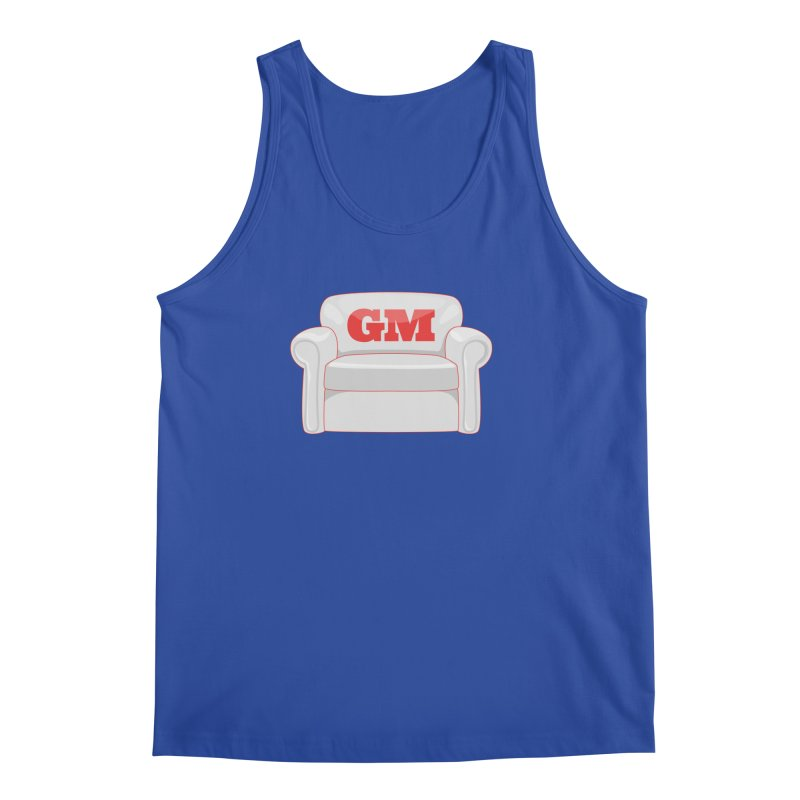 Armchair GM Men's Regular Tank by Official DodgerBlue.com Shop