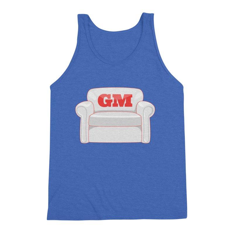 Armchair GM Men's Triblend Tank by Official DodgerBlue.com Shop