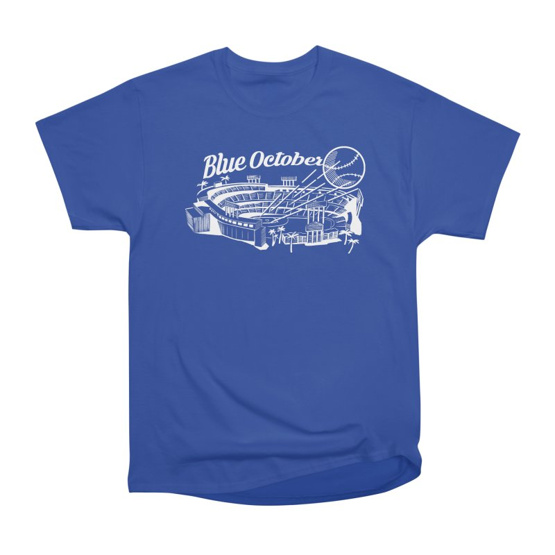 Blue October Men's T-Shirt by Official DodgerBlue.com Shop