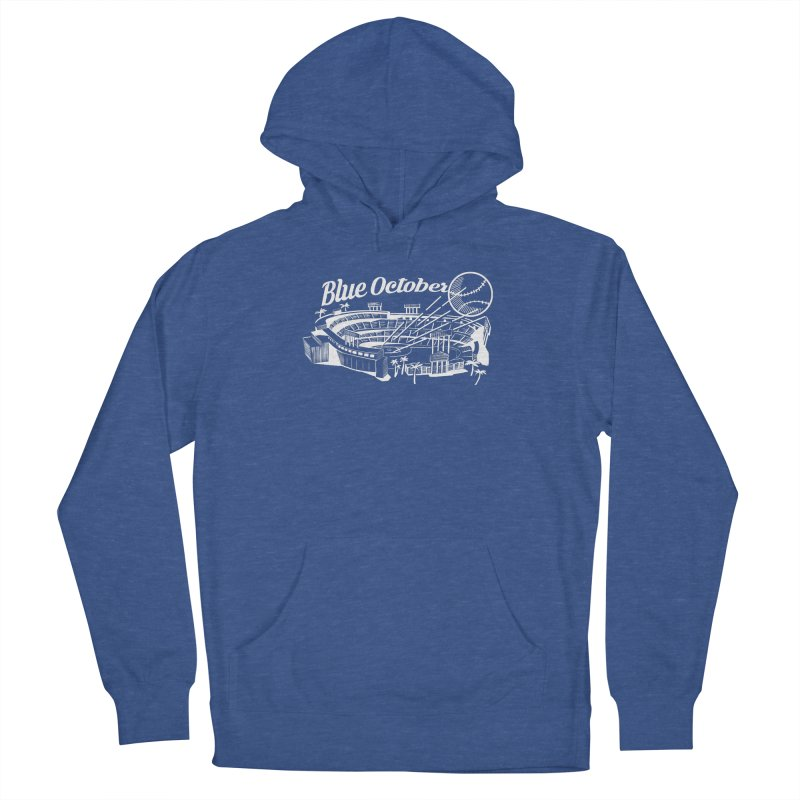 Blue October Women's Pullover Hoody by Official DodgerBlue.com Shop