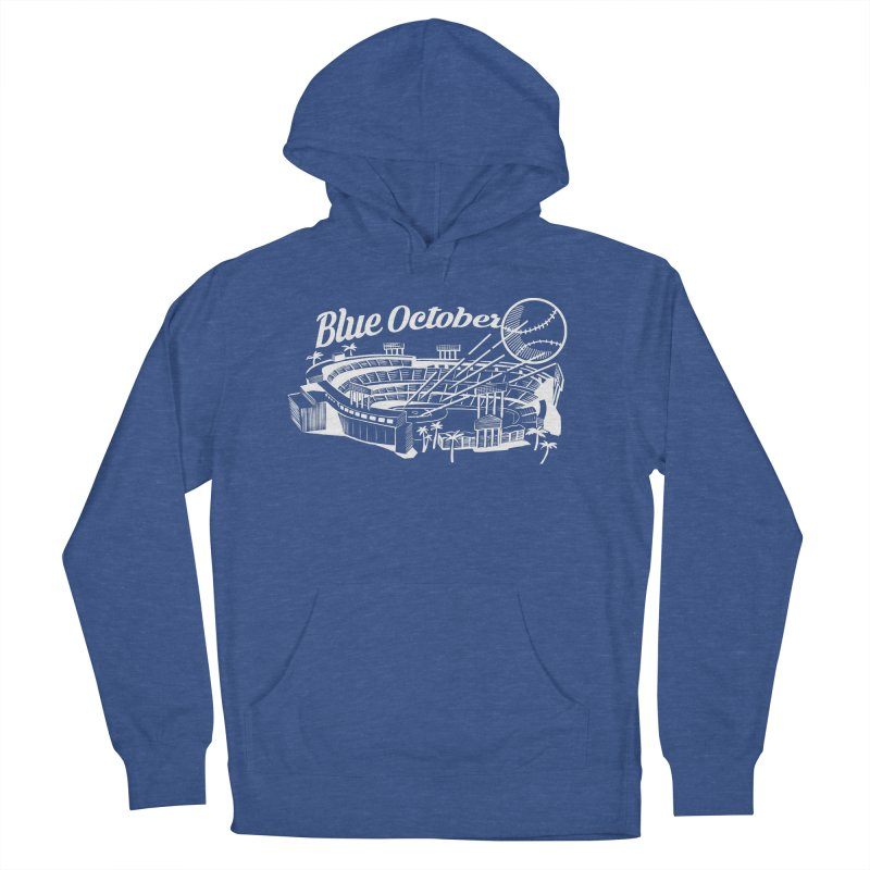 Blue October Men's French Terry Pullover Hoody by Official DodgerBlue.com Shop