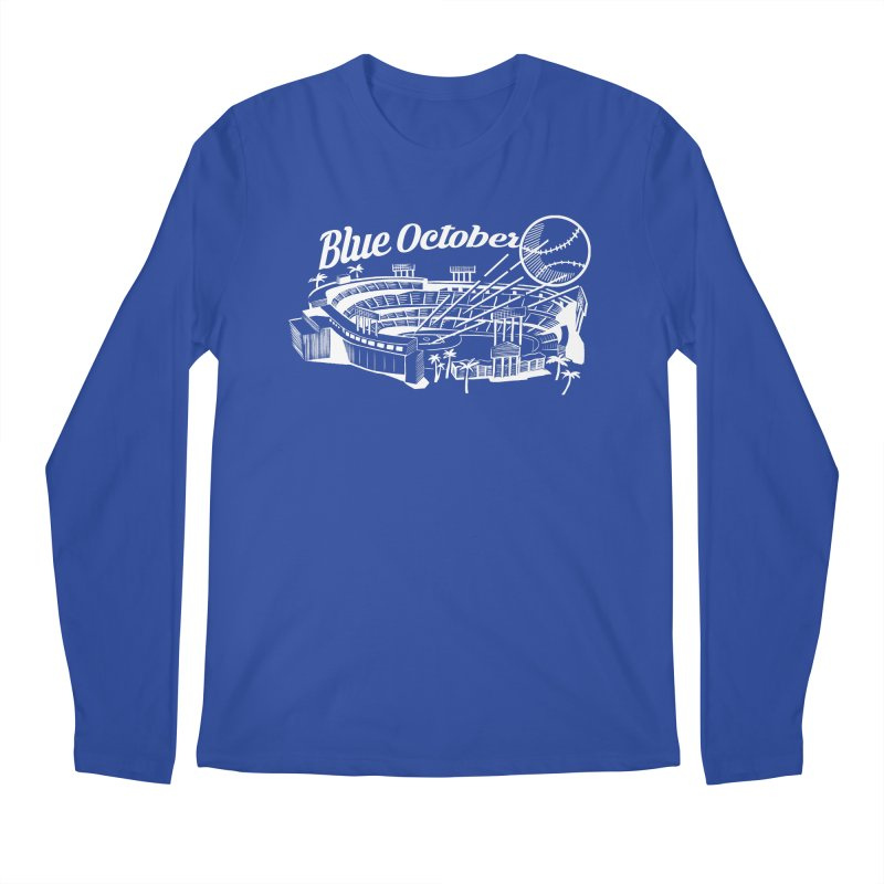 Blue October Men's Regular Longsleeve T-Shirt by Official DodgerBlue.com Shop