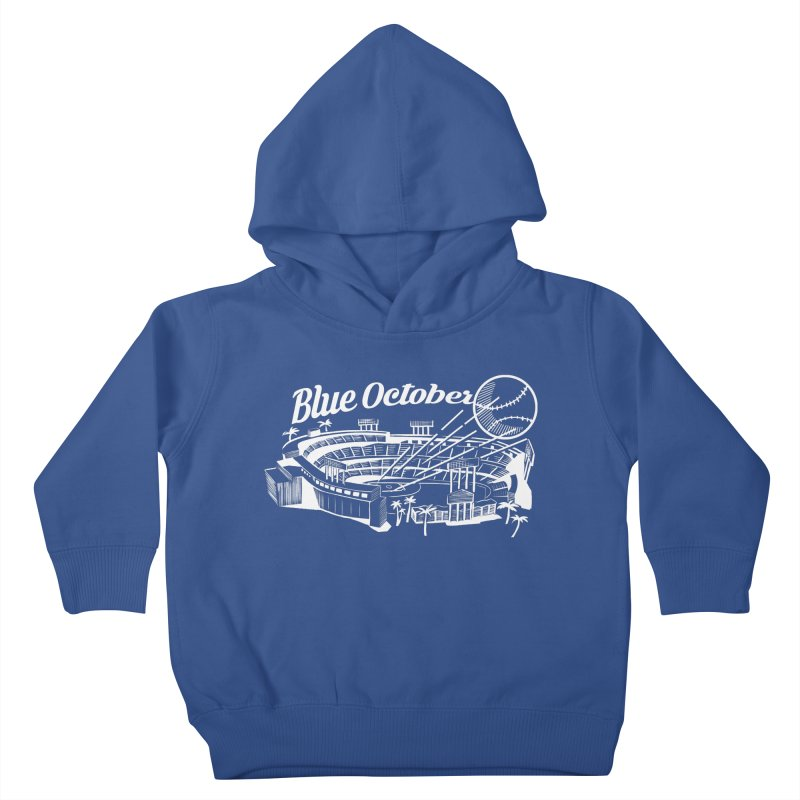 Blue October Kids Toddler Pullover Hoody by Official DodgerBlue.com Shop