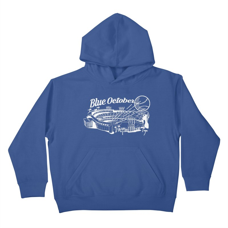 Blue October Kids Pullover Hoody by Official DodgerBlue.com Shop