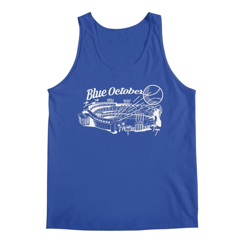 Blue October Men's Tank by Official DodgerBlue.com Shop