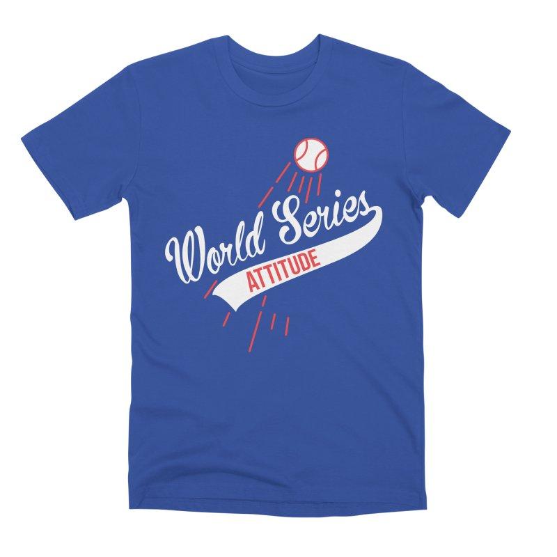 World Series Attitude Men's T-Shirt by Official DodgerBlue.com Shop