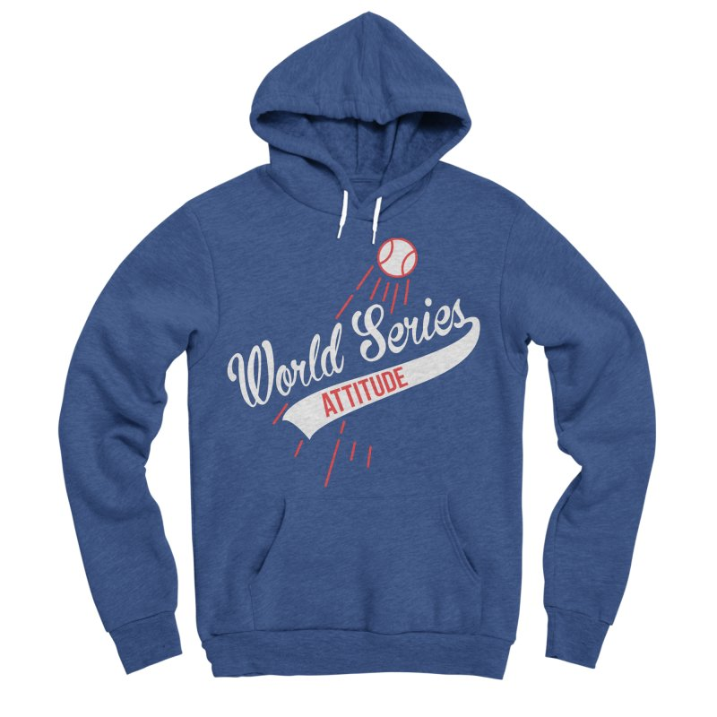 World Series Attitude Men's Sponge Fleece Pullover Hoody by Official DodgerBlue.com Shop